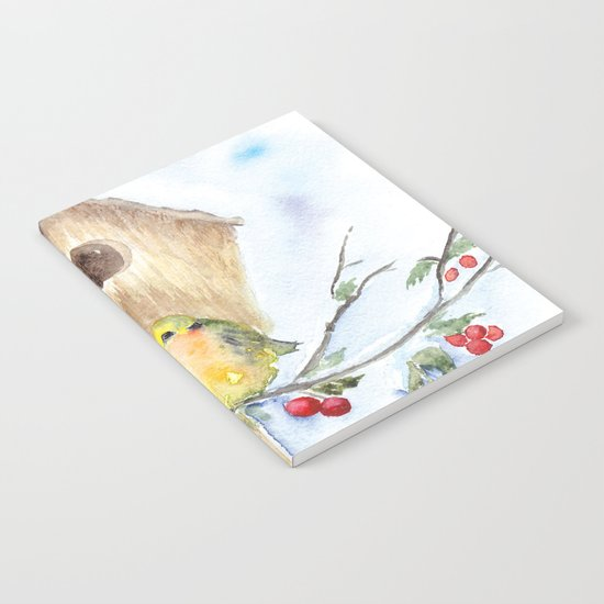 Winter animal #16 Notebook