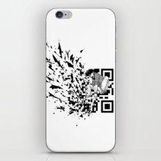 Break a (QR) Code iPhone Skin