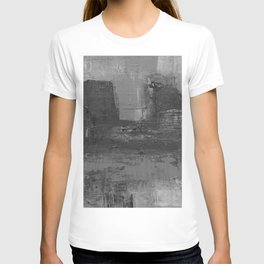 Paint Texture (Black and White) T-shirt