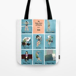 The Kama Sutra Of Sleep, Part 3: Solo Tote Bag