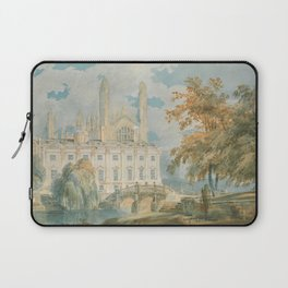 "J.M.W. Turner ""Clare Hall and King's College Chapel, Cambridge, from the Banks of the River Cam"" Laptop Sleeve"