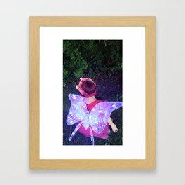 Summer Pixie Framed Art Print
