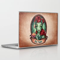 pinup Laptop & iPad Skins featuring TOXIC pinup by Tim Shumate