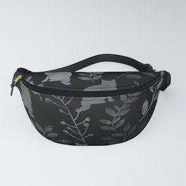 Watercolor Floral and Cat III Fanny Pack