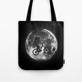 E.T.B. (monochrome series) Tote Bag