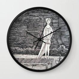 Gorey Tribute Wall Clock