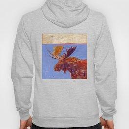 moose - by phil art guy Hoody