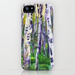 Modern Woods iPhone Case