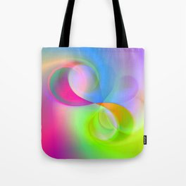 color whirl -23- Tote Bag