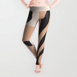 Minimal Abstract Art 11 Leggings