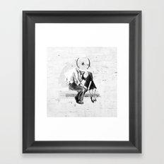 SYNALOEPHA Framed Art Print