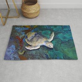 Kemp's Ridley Sea Turtle Rug