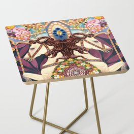 Carousel Side Table