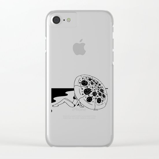 I'm melting Clear iPhone Case