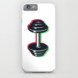 Dumbbell iPhone Case