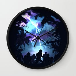 Stormy Night Wall Clock
