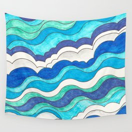 Make Waves II Wall Tapestry