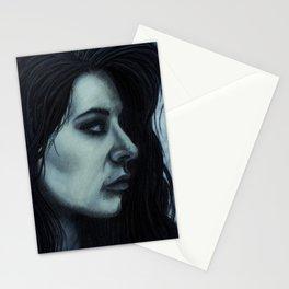 Melancholia Blue Stationery Cards