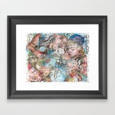 Tap Out Framed Art Print