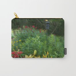 Garden With Lamp Carry-All Pouch