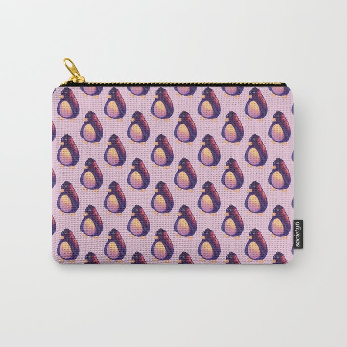 pink penguin Carry-All Pouch
