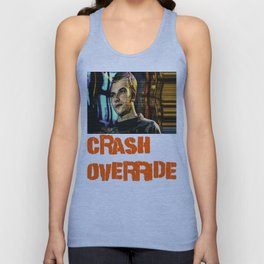 Crash Override Unisex Tank Top