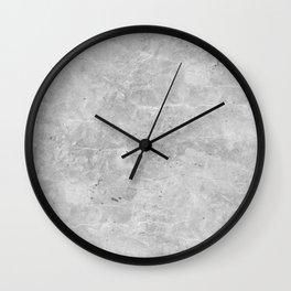 Gray Concrete Wall Clock