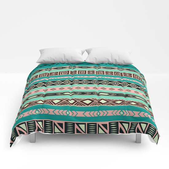Aztec Tribal Pattern Comforters