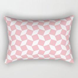 Coral Op Art Pattern Rectangular Pillow