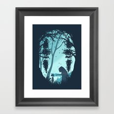 Lonely Spirit Framed Art Print