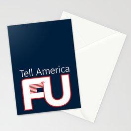 Tell America FU Stationery Cards