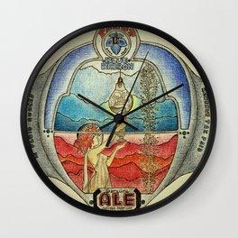BeerNoir Wall Clock