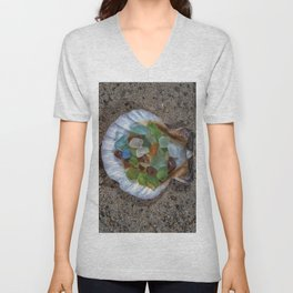 Beach Finds Unisex V-Neck
