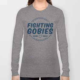 Fighting Gobies Nationals - Blue Long Sleeve T-shirt