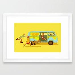 Little Mystery Machine Framed Art Print