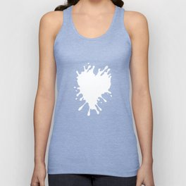 Splatter Heart Unisex Tank Top