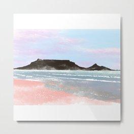 Table Mountain Metal Print