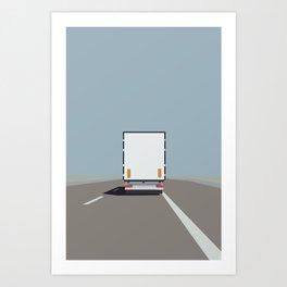 PÅ VEJEN Art Print