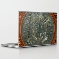 portal Laptop & iPad Skins featuring Portal by DesignsByMarly