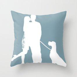 In Love Print Throw Pillow