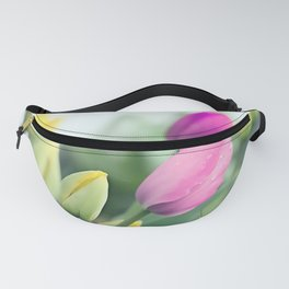 Colorful tulips 2 Fanny Pack