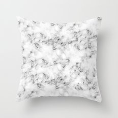 Real Marble Throw Pillow
