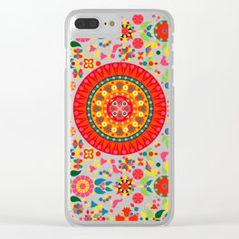 Wayuu Tapestry - I Clear iPhone Case