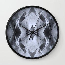 Hand Leaf Mandala Wall Clock