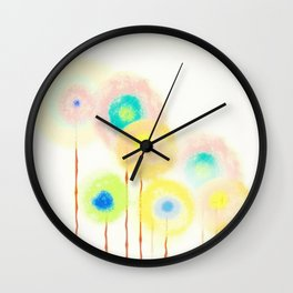 Float On Wall Clock