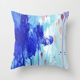 Callais /fragment Throw Pillow