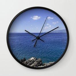 Beautiful Seascape In Croatia Wall Clock