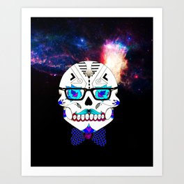 Out in Space Art Print