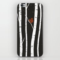 birch iPhone & iPod Skins featuring Birch by LauraTolton