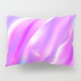 Purple Pink Iridescent Foil Pillow Sham